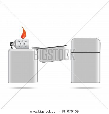 Lighter vector illustration. Lighter vector illustration set