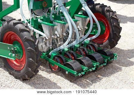 Sowing Machine Detail
