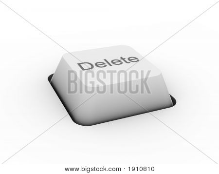 Delete - Keyboard Button