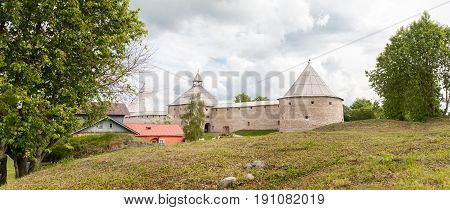 Panorama Of Fortress Old Ladoga
