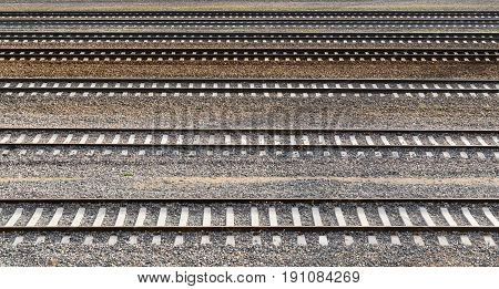 Parallel Railway Tracks