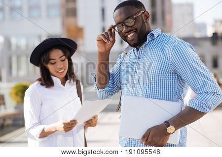 Startup enthusiast. Hardworking diligent brilliant guy regularly seeing his business partner for discussing topics concerning their joint project
