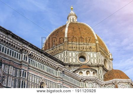 The Basilica di Santa Maria del Fiore (English Basilica of Saint Mary of the Flower) is the main church of Florence Italy.