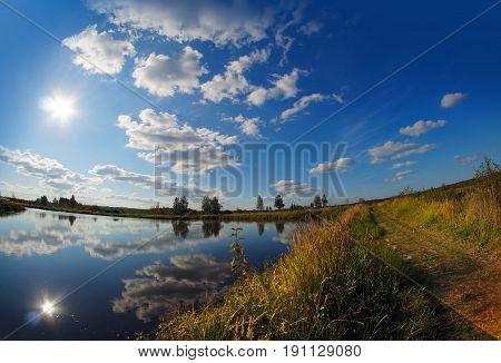 Summer Landscape, River