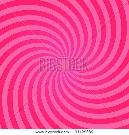 Sunburst pattern. Abstract radial bright sun burst background. Pink center sunlight gradient design. Vector sunbeam eps10