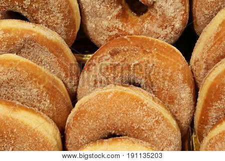 Donuts For Sale In The Pastry Shop