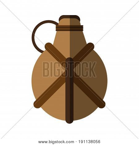 hand grenade icon image vector illustration design