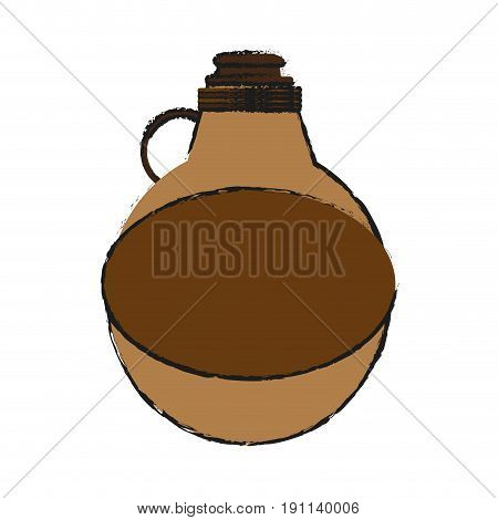 water canteen icon image vector illustration design