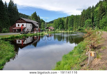 Landscape and nature Sumava, Czech Republic, Europe