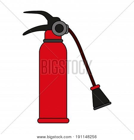 Fire extinguisher flames icon vector illustration design graphic flat