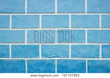 Textures On The Blue Wall,