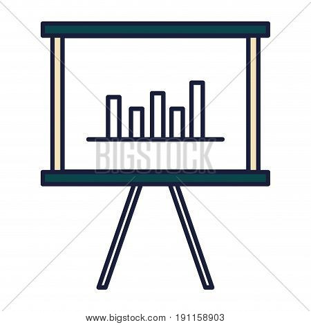 trainning paperboard isolated icon vector illustration design