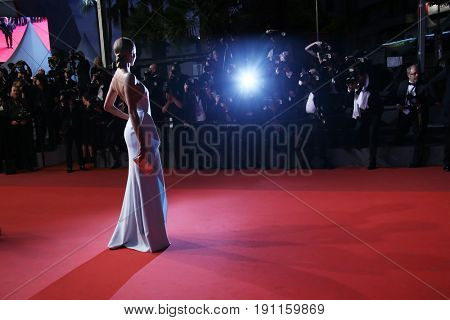 Natasha Poly attends the 'In The Fade (Aus Dem Nichts)' screening during the 70th annual Cannes Film Festival at Palais des Festivals on May 26, 2017 in Cannes, France.