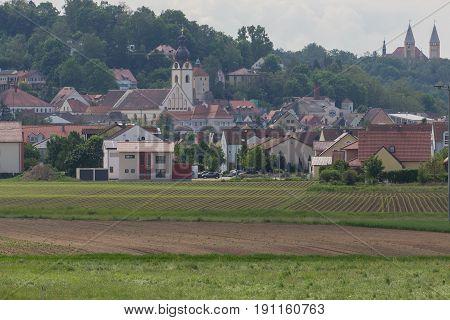 Schwandorf in bavaria picture taken from the distance