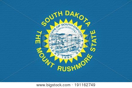 Flag Of South Dakota Wall