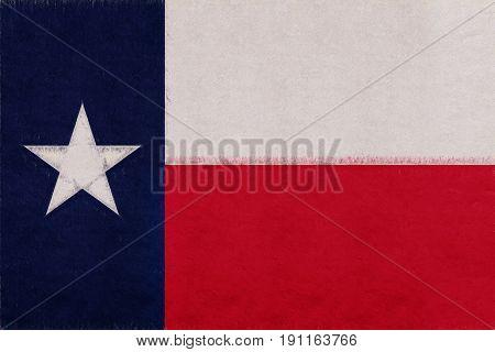 Flag Of Texas Grunge