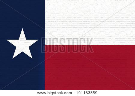 Flag Of Texas Wall