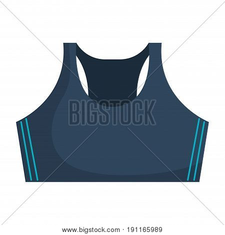 Female gym blouse icon vector illustration design