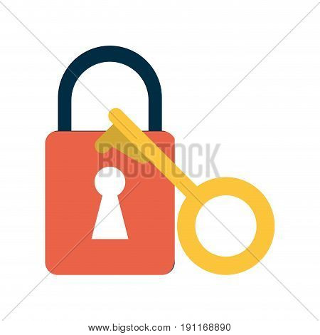 key lock close icon vector illustration design graphic