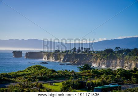 CAPE FOULWIND, NEW ZEALAND - FEBRUARY 14 : View of Cape Foulwind in New Zealand on February 14, 2012