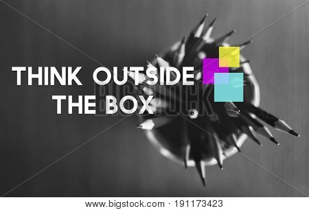 Think Outside The Box Color Squares