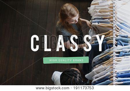 Be Classy Unique Different Icon