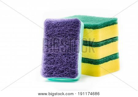 Sponge For Cleaning And Dishwashing