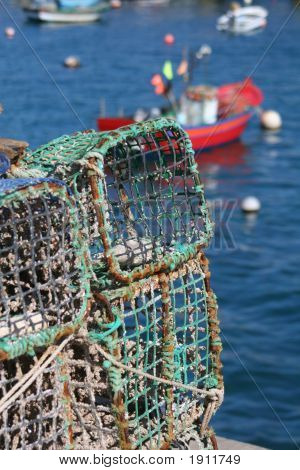 Fishing Pots With Sea