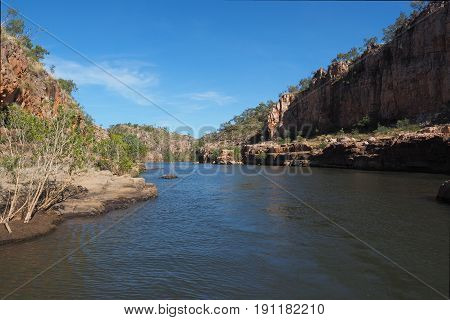 Morning at the first Gorge at Katherine Gorge Northern Territory Australia May 2017