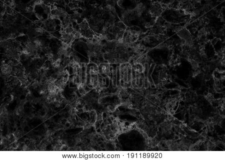 Black marble texture with delicate veins (Natural pattern for backdrop or background, Can also be used create surface effect to architectural slab, ceramic floor and wall tiles)