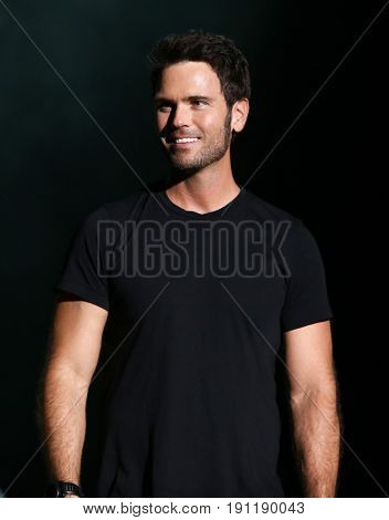 NASHVILLE, TN-JUN 10: Country singer Chuck Wicks onstage during the CMA Music Festival on June 10, 2017 at Nissan Stadium in Nashville, Tennessee.
