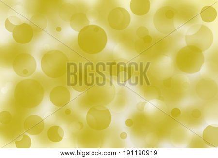 Golden color and light on blur background