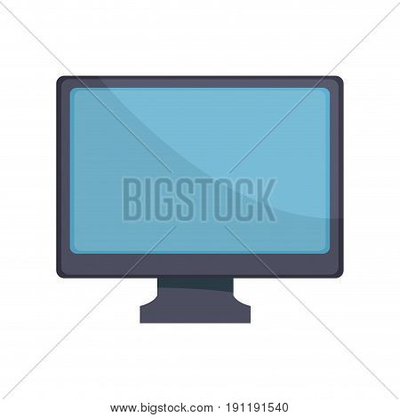 modern screen computer monitor device icon vector illustration