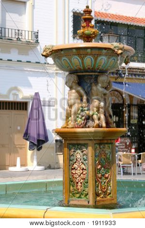 Spanish Ornate Fountain