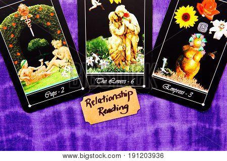 Tarot Deck - Relationship Tarot Readings