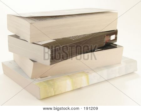 Stack Of Paperbacks