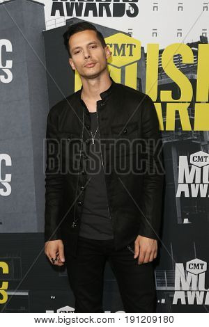 NASHVILLE, TN-JUN 07: Devin Dawson attends the 2017 CMT Music Awards at the Music City Center on June 7, 2017 in Nashville, Tennessee.