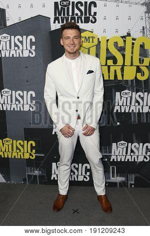 NASHVILLE, TN-JUN 07: Morgan Wallen attends the 2017 CMT Music Awards at the Music City Center on June 7, 2017 in Nashville, Tennessee.