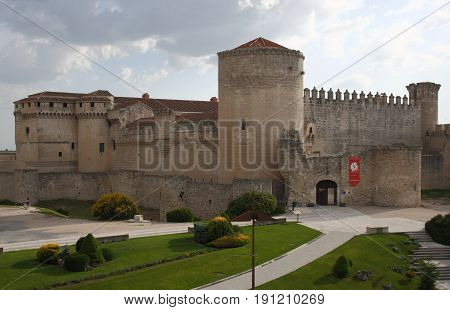 Castle of Cuéllar, Segovia, Spain, Old jail during the Spanish Civil War, restoration,