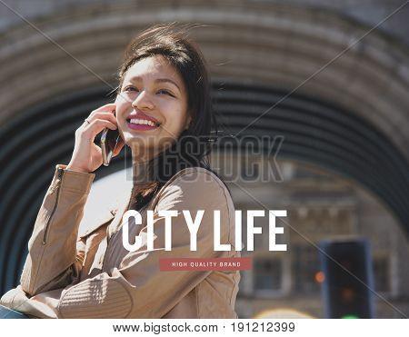 Digital Life City Connection Technology Internet