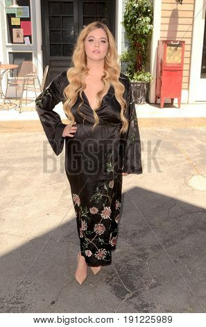 LOS ANGELES - JUN 14:  Sasha Pieterse at the Made Here exhibit preview at the Warner Brothers Studio on June 14, 2017 in Burbank, CA