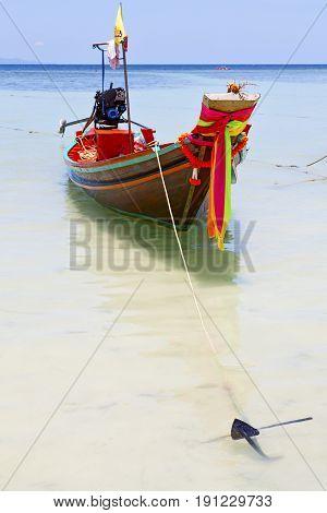Anchor Thailand     Kho Tao Bay