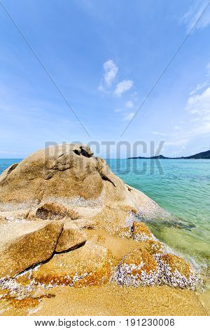 Asia   Bay Isle    Rocks   Thailand  And South  A Sea Kho Samui
