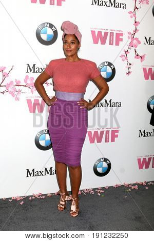 LOS ANGELES - JUN 13:  Tracee Ellis Ross at the Women in Film Los Angeles Celebrates the 2017 Crystal and Lucy Awards at the Beverly Hilton Hotel on June 13, 2017 in Beverly Hills, CA