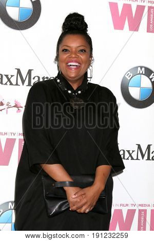 LOS ANGELES - JUN 13:  Yvette Nicole Brown at the Women in Film Los Angeles Celebrates the 2017 Crystal and Lucy Awards at the Beverly Hilton Hotel on June 13, 2017 in Beverly Hills, CA