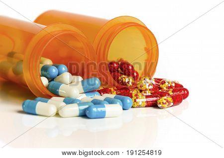 Medicine In Light Protected Bottle.