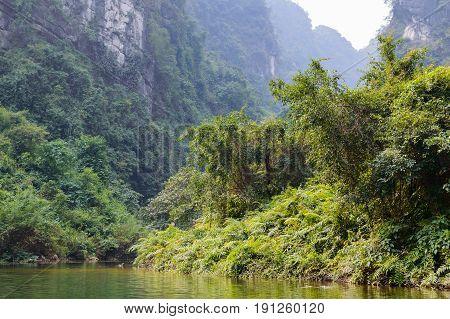 Trang An, Tam Coc, Ninh Binh, Vietnam.