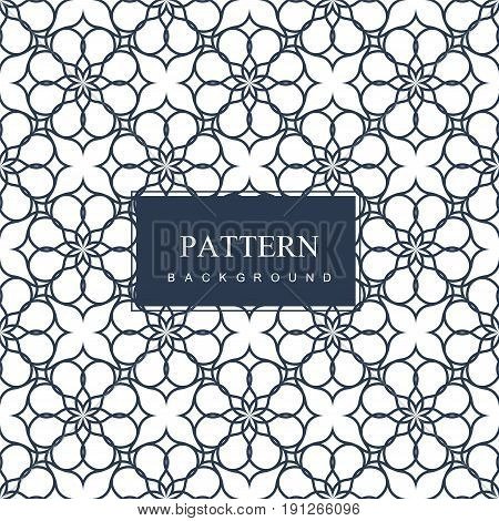 Abstract pattern illustration in arabian style. Vector illustration