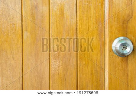 door knob wood backgrond basic wood door