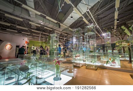 Pathum Thani Thailand - June 11 2017 Part of exibition at The National Science Museum